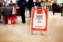 Hemköp lanserar pant på plastpåsar