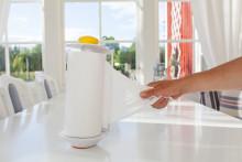 Svensk innovation: Smart hushållspappershållare med vakuumteknik!
