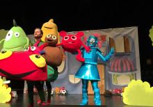 Barnföreställning med rockstjärnefeeling gjorde succé i Skara