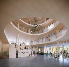 White och In3prenör ritar och bygger Botkyrkas nya kommunhus