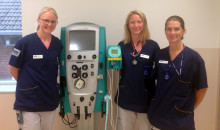 Först i Sverige med hemodialys