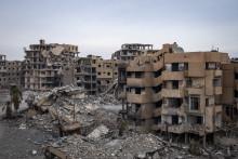 Syrien: Raqqa i ruiner efter koalitionens bombningar