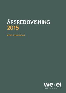 WE®EL - Årsredovisning 2015
