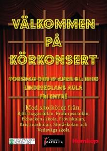 Kulturskolan Garnalia bjuder in till konsert med skolkörer