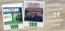 """Heute vor 29 Jahren: der erste """"Freßnapf""""-Markt in Erkelenz öffnet seine Türen"""
