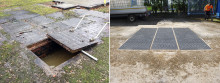 Growing Trend: UK Redevelopment Programmes Replace Concrete Recess Covers with Safer GRP Composite Alternatives