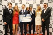 Sandvika-elever til topps på NM for Ungdomsbedrifter
