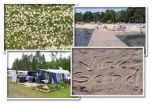 Familjedag på Vita Sands Camping med avd Kalmar Län