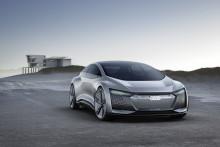 Frankfurtsalongen: Audi Aicon – autonomt på väg mot framtiden