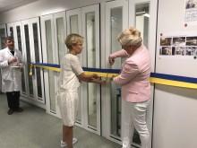 Invigning av nya beredningslokaler på Sahlgrenska