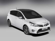 Toyota Verso blir snyggare, säkrare och snålare