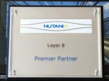 Layer 8 IT-Services - Nutanix första Premier Partner i Sverige sedan Juli 2012