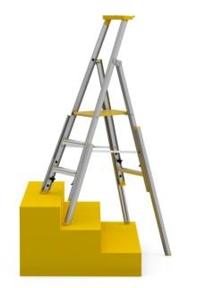 Säker i trappan - med Wibe Ladders nya trapphusstege 77S
