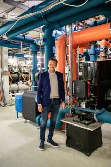 Jätteprojekt för förnybar energi på Frölunda Torg