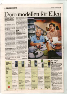 Best in test: Doro preferred mobile phone by seniors