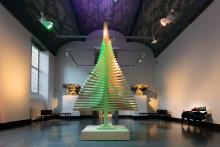 Matematisk gran inviger julen på Röhsska museet