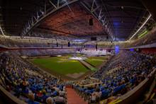 Internationaler Jugendtag endet mit Gottesdienst in der Arena