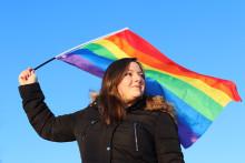 Snart lyser Skellefteå Pride upp i vintermörkret