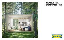 IKEA koncernen årssammanfattning 2015