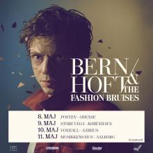 Bernhoft & The Fashion Bruises spiller fire shows i Danmark til maj