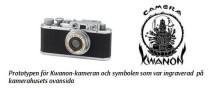 Canon firar 80-årsjubileum för Kwanon, företagets första kamera
