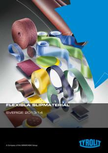 Tyrolit produktkatalog flexibelt slipmaterial 2013
