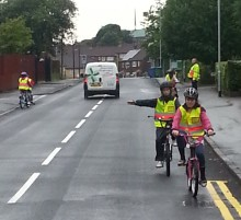 Young Cyclists on Course for Road Safety