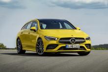 Nye Mercedes-Benz CLA Shooting Brake med norske priser
