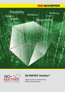 Med SSI Schäfers innovativa 3D-MATRIX koncept garanteras du maximal flexibilitet och en framtidsorienterad skalbarhet