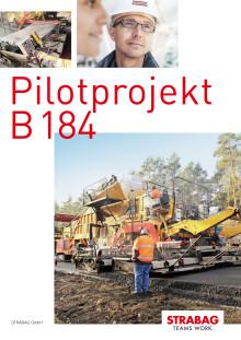 STRABAG: Pilotprojekt  B 184