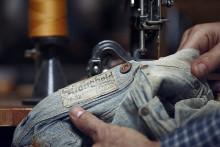 Världens främsta jeanssamling på Antikmässan