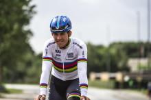 Halvorsen imponerer i Ungdommens Tour de France