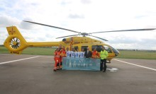 'Fred. Olsen-related companies support the Royal National Lifeboat Institution and East Anglian Air Ambulance with £10,000 donation'