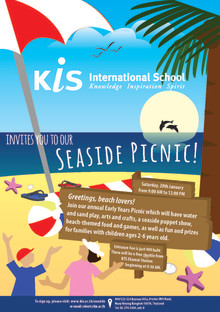 JOIN US FOR A SUPER SEASIDE PICNIC