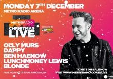 Metro Radio Christmas Live – 7 December 2015