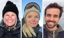 """Årets stipendiater i """"H.M. Konung Carl XVI Gustafs 70-årsfond för unga ledare på snö"""""""