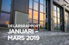 Delårsrapport januari-mars 2019 Stendörren Fastigheter AB (publ)