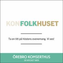 Hologramannonser på stan lockade många till Örebro Konserthus webb