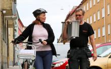 Cykla säkert i höst