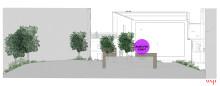 Region Stockholm öppnar Intresseanmälan för skulpturalt konstuppdrag i ny trädgårdsterrass på Sös