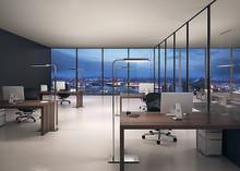 Intelligent dagslys på skrivebordet