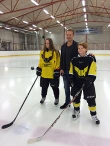 Nedsläpp för Mimerklubben - ett hockeyfritids i Mimerhallen