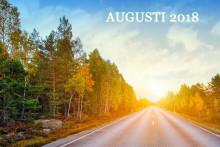 Bilmarknaden augusti 2018