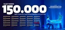 Musicalen SEEBACH runder 150.000 solgte billetter og forlænger med endnu en uge i København