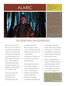 Barbarians Rising: Alaric (Gavin Drea)