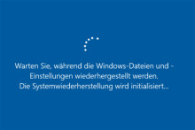 Gelöst - Windows 10 Systemwiederherstellung bleibt stecken oder hängt fest