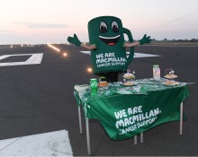 London Luton Airport raises £2,500 during Macmillan take over