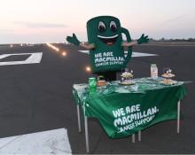 London Luton Airport raises £2,500 during Macmillan take over