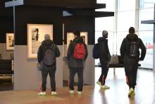 Fotoutställningen Crossing Borders på Malmö Airport