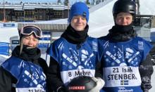 Wilma Johansson fyra i damernas slopestylefinal i JVM, Melvin Morén tia och Isak Stenberg 12:a i herrarnas final